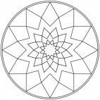 Sterne-Mandala 17