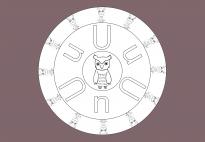 ABC-Mandala U-Uhu