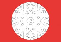 Sterne-Adventskalender 2
