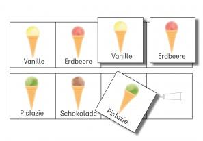 Logische Reihen: Eistüten fortsetzen 2