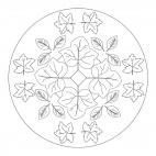 Autumn Leaves Mandala