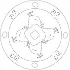 Hennen-Mandala