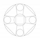 Geometrisches Mandala 2
