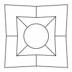 Geometrisches Mandala 3
