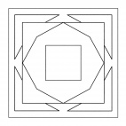 Geometrisches Mandala 4