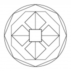 Geometrisches Mandala 5