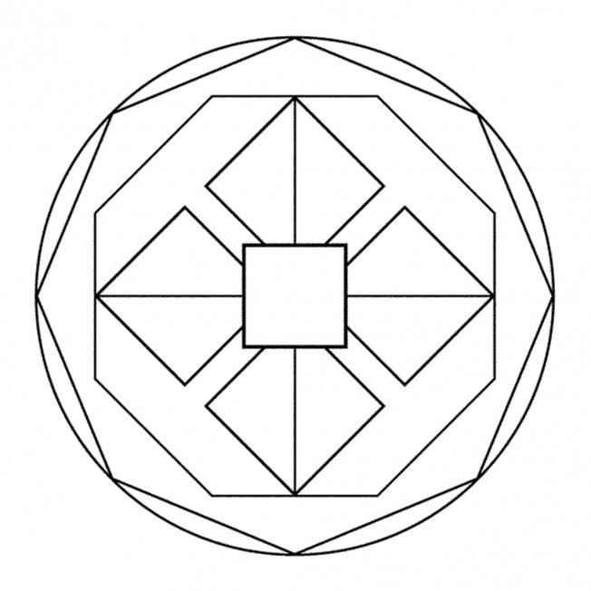 Geometrisches Mandala