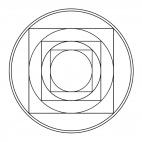 Geometrisches Mandala 6