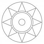 Geometric Mandala 8