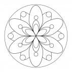 Geometrisches Mandala 17
