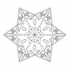 Geometrisches Mandala 24