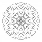 Geometrisches Mandala 1