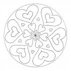 Herz-Mandala 3