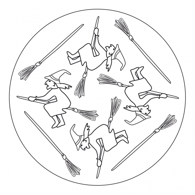 Hexen-Mandala