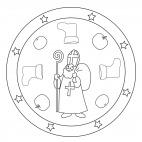 Saint Nicholas Mandala