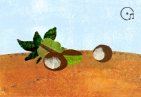 Der Kastanienbaum - ein Herbstlied