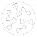 Hourglass Mandala