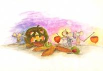 Die Mäuse feiern Halloween