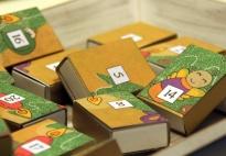 Streichholzschachtel-Puzzle-Adventkalender: Anleitung