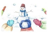 Hände wärmen - ein Mitmachgedicht für kalte Wintertage