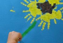 Sonnenblumen-Druck