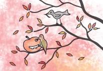 Riki und seine Freunde: Der Jahreszeiten-Baum Bodenbild