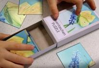 Hosentaschen PUZZLE Zitronenfalter: Vorlagen
