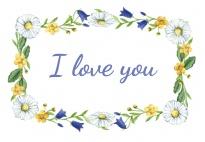 Portfolio Page: I Love You (Frame)