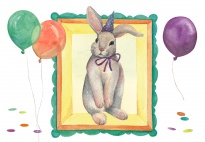 Portfolio Page: It's My Birthday (Rabbit-Themed)
