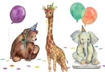 Portfolio Page: It's My Birthday (Animal-Themed)