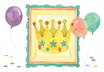 Portfolio Page: It's My Birthday (With Crown)