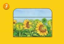 Mini-Lapbook Sonnenblume: Falttasche 2