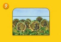 Mini-Lapbook Sonnenblume: Falttasche 3