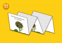Mini-Lapbook Sonnenblume: Gedicht