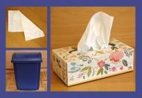 Ich putze meine Nase: Foto - Wortkarten