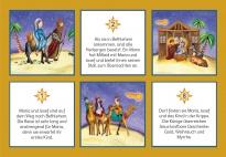 Die Weihnachtsgeschichte: Kleine Erzählkarten