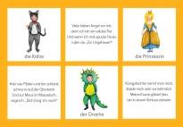 Wir verkleiden uns: Rätselkarten für Fasching/Karneval