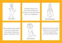 Wir verkleiden uns: Rätselkarten für Fasching/Karneval SW