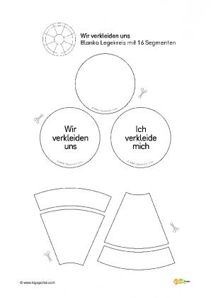 Eulenpost Legekreis Vorlage Fur A4 Mit Textfeldern 7