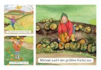 Das machen wir im Herbst - Bildkarten zur Sprachförderung