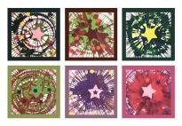 Gestalten mit der Farbschleuder: Einladungskarten