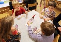 Weihnachtswichtel Zählkarten: Spielideen