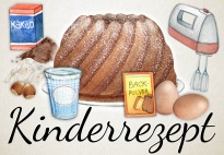 Fünfminutenkuchen - Kinderrezept