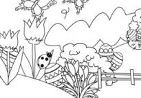 ausmalbilder für kindergarten, kita und schule