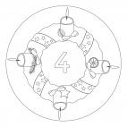 4. Advent-Mandala