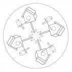 Birdhouse Mandala