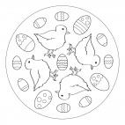 Küken-Mandala 3