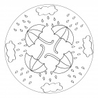 Regen-Mandala 1