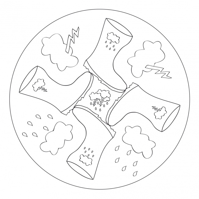 Regen-Mandala 2