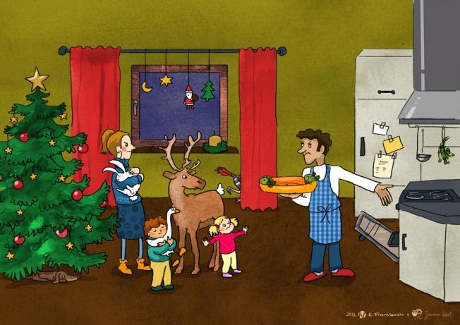 vegetarische weihnachten f r kindergarten kita und schule. Black Bedroom Furniture Sets. Home Design Ideas